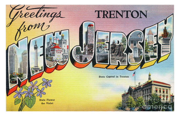 Photograph - Trenton Greetings by Mark Miller
