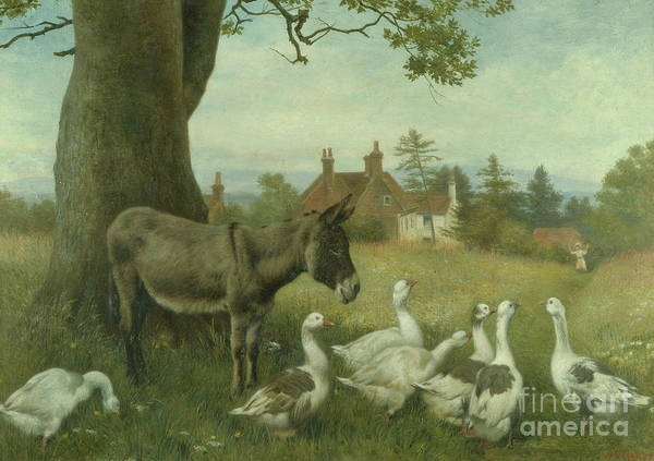 Wall Art - Painting - Trespassers by William Weekes