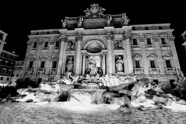 Trevi Fountain Digital Art - Trevi Fountain by Christopher Eng-Wong