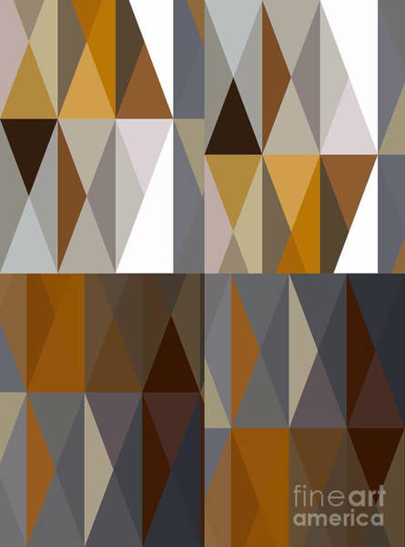 Wall Art - Photograph - Triangles 1 by David Boudreau