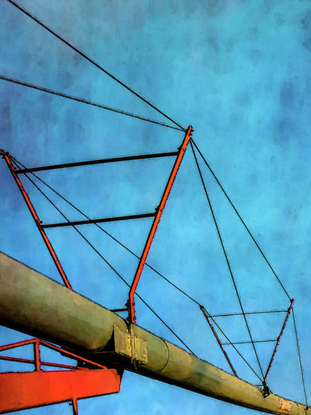 Photograph - Triangles And Sky 4338 Dp_3 by Steven Ward