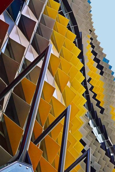 Photograph - Triangles - Royal Melbourne Institute Of Technology by KJ Swan