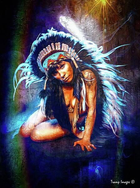 Digital Art - Tribal Beauty by Wesley Nesbitt