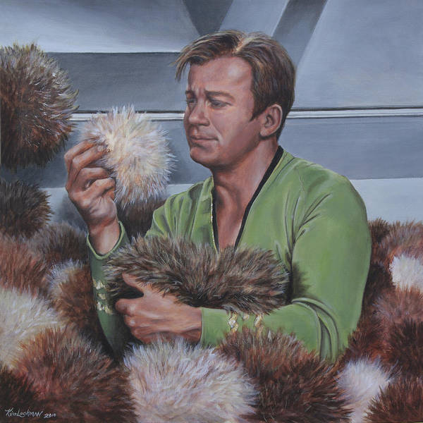 Painting - Tribble Trouble by Kim Lockman