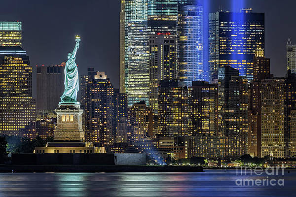 Wall Art - Photograph - Tribute In Light I by Scott Segler