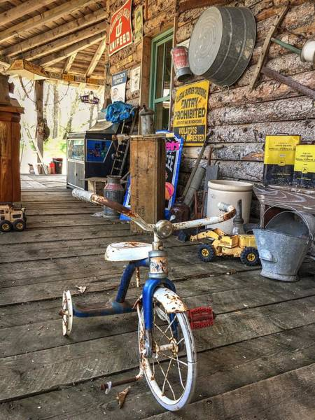 Photograph - Tricycle by David Matthews