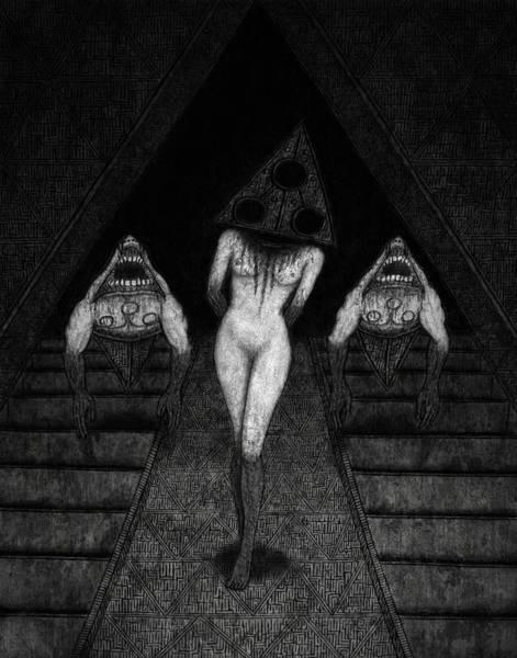 Trigia And The Dethiligox - Artwork Art Print