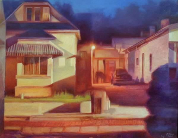 Hans Droog Wall Art - Painting - Trinidad Commercial Street by Hans Droog