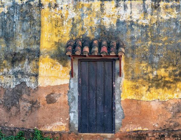 Photograph - Trinidad Door by Tom Singleton