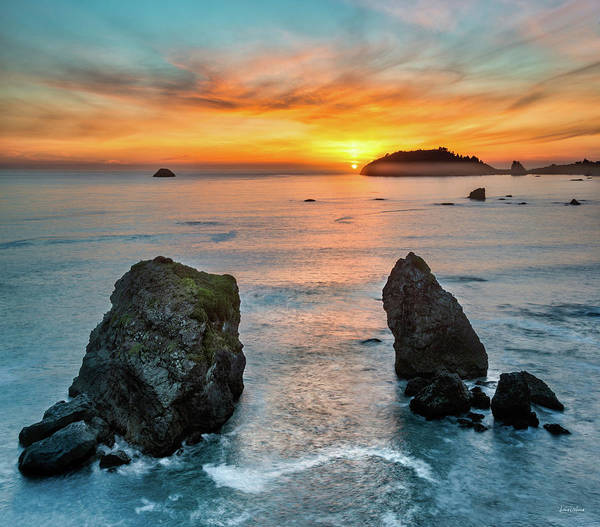 Photograph - Trinidad Ocean Sunset by Leland D Howard