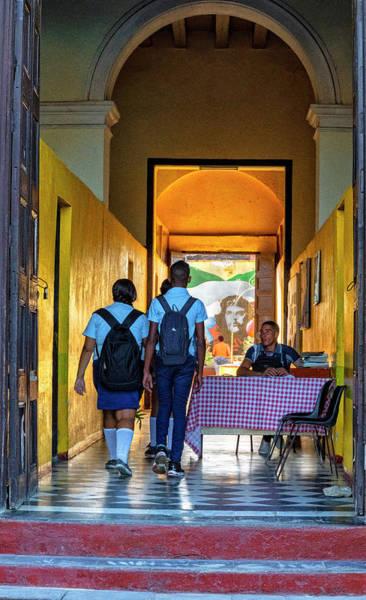 Photograph - Trinidad School by Tom Singleton