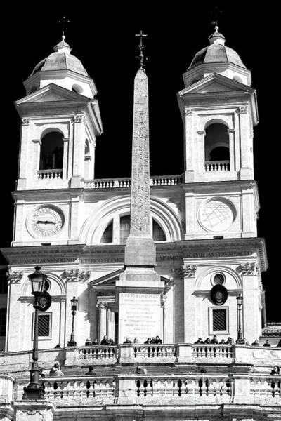 Photograph - Trinita Dei Monti Rome by John Rizzuto