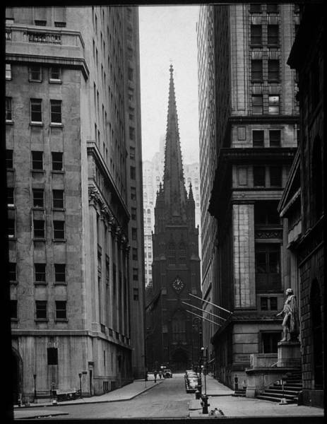 Photograph - Trinity Church Nyc by Archive Photos