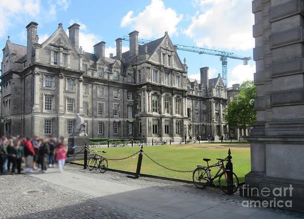 Photograph - Trinity College Ireland by Cindy Murphy