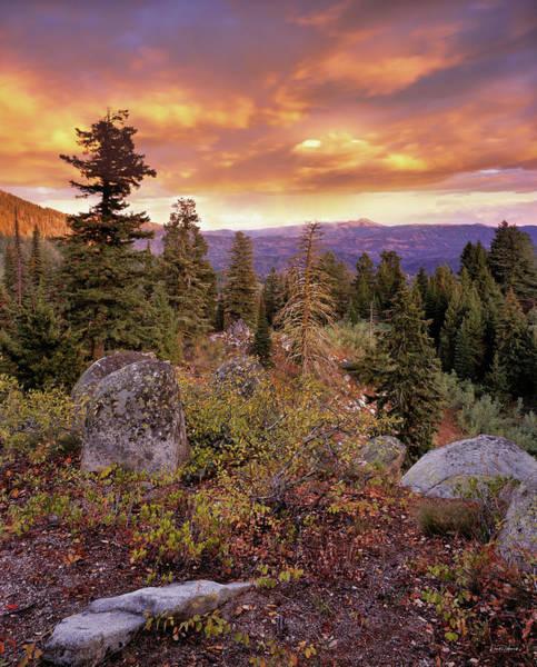Trinity Photograph - Trinity Mountains by Leland D Howard