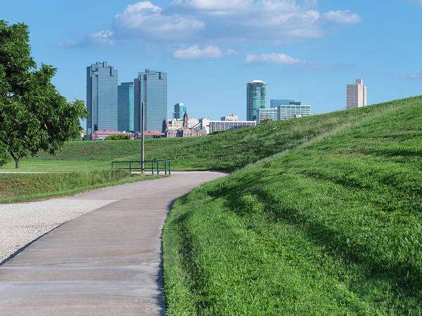Photograph - Trinity Trail And Fort Worth Skyline 61719 by Rospotte Photography