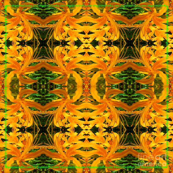 Hurricane Lily Digital Art - trip on your clothes TM lily-ness by Lisa J Powers