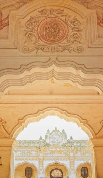 Wall Art - Photograph - Triple Archways Guatemala by Douglas Barnett