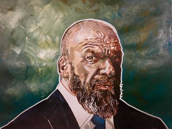 Painting - Triple H by Joel Tesch