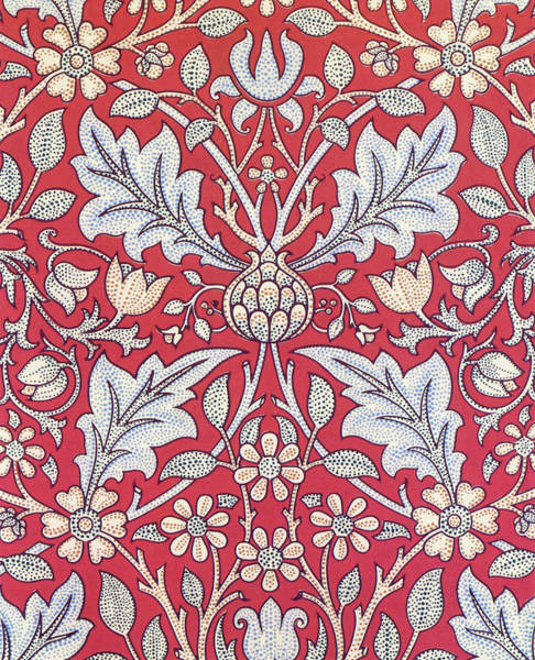 Wall Art - Painting - Triple Net - Digital Remastered Edition by William Morris