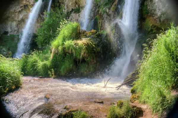 Triple Falls Photograph - Triple Waterfalls by Douglas Barnett