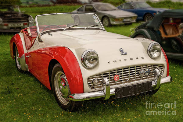 Wall Art - Photograph - Triumph Tr3 by Adrian Evans