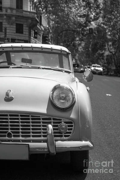 Wall Art - Photograph - Triumph Tr3 In Rome by Stefano Senise