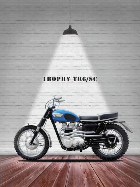 Wall Art - Photograph - Triumph Trophy Tr6 by Mark Rogan