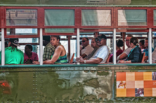 Photograph - Trolley Rider Hell by Thomas Gaitley