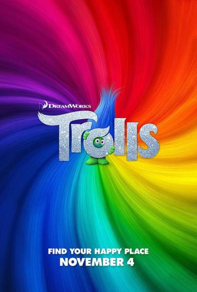 Troll Wall Art - Digital Art - Trolls Poster by Geek N Rock
