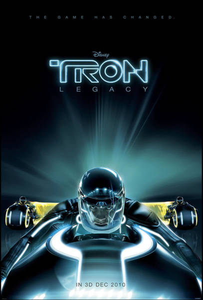 Legacy Wall Art - Digital Art - Tron Legacy by Geek N Rock