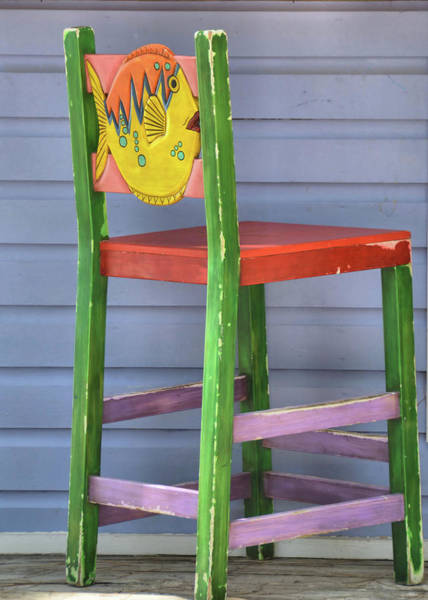 Photograph - Tropical Barstool by JAMART Photography
