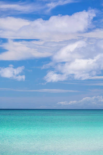 Tropical Climate Photograph - Tropical Beach And Clouds, Boracay by Stuart Dee