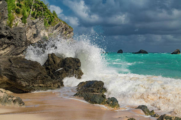 Wall Art - Photograph - Tropical Beach Splash by Betsy Knapp