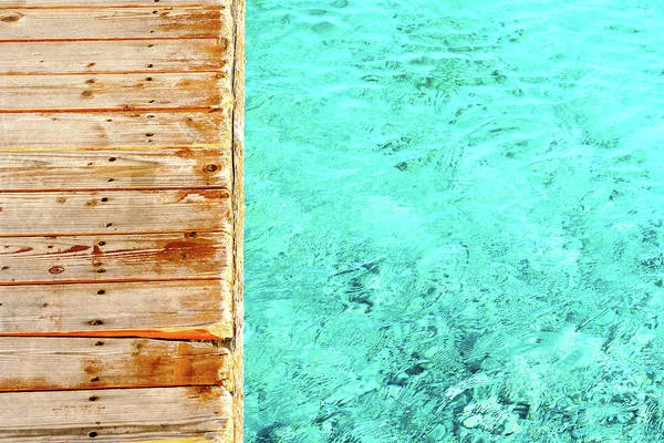 Big Island Photograph - Tropical Dock by Titaniumdoughnut