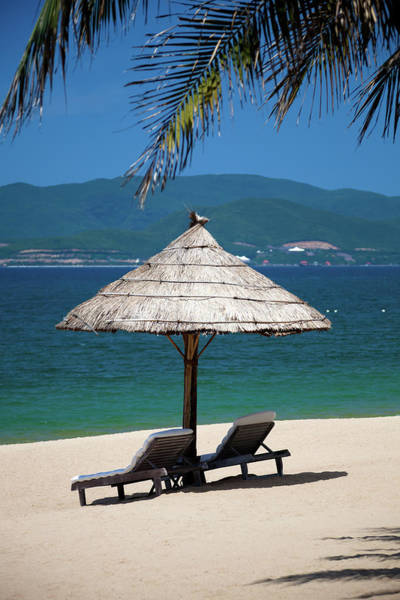 Parasol Photograph - Tropical Holidays On Nha Trang Beach by Fototrav