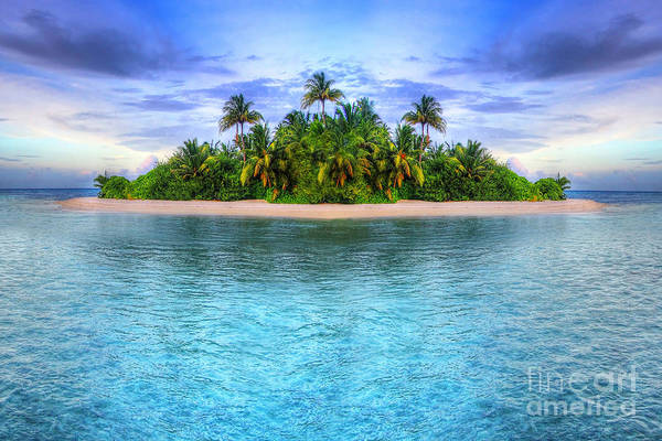 Wall Art - Photograph - Tropical Island Of Maldives by Patryk Kosmider