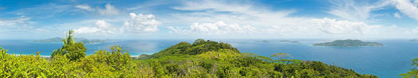 Wall Art - Photograph - Tropical Island Super Panorama Lush by Fotovoyager