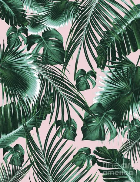 Banana Leaf Mixed Media - Tropical Jungle Leaves Dream #1 #tropical #decor #art by Anitas and Bellas Art