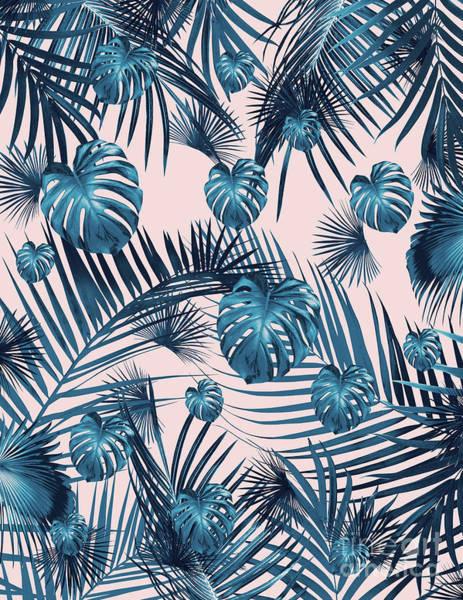 Banana Leaf Mixed Media - Tropical Jungle Leaves Garden #1 #tropical #decor #art by Anitas and Bellas Art