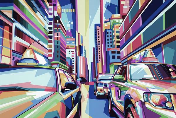 Wall Art - Digital Art - Tropical Morning by ArtMarketJapan