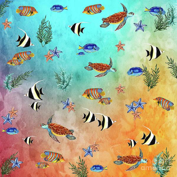 Wall Art - Photograph - Tropical Seaworld By Kaye Menner by Kaye Menner
