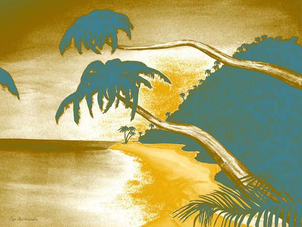 Bahamas Digital Art - Tropical Vibes by Faye Anastasopoulou