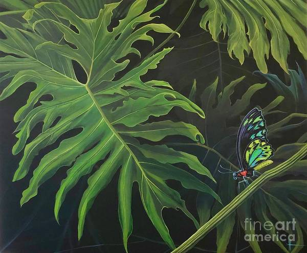 Wall Art - Painting - Tropicalia by Hunter Jay
