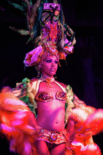Tropicana Club Photograph - Cuban Tropicana Dancer I by Alexander McAllan