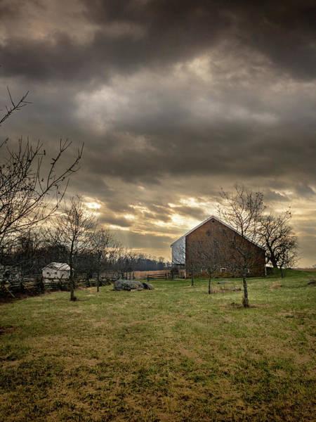 Photograph - Trostle Barn by Dan Urban