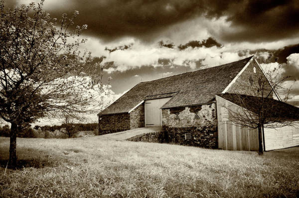 Photograph - Trostle Barn In Infrared by Paul W Faust - Impressions of Light