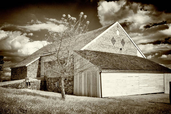 Wall Art - Photograph - Trostle Barn With Cannon Ball Hole by Paul W Faust - Impressions of Light