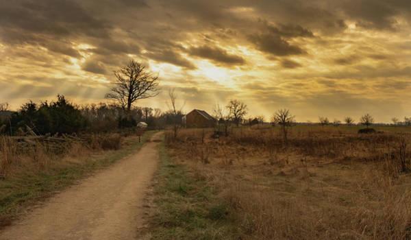 Photograph - Trostle Sunrays by Dan Urban
