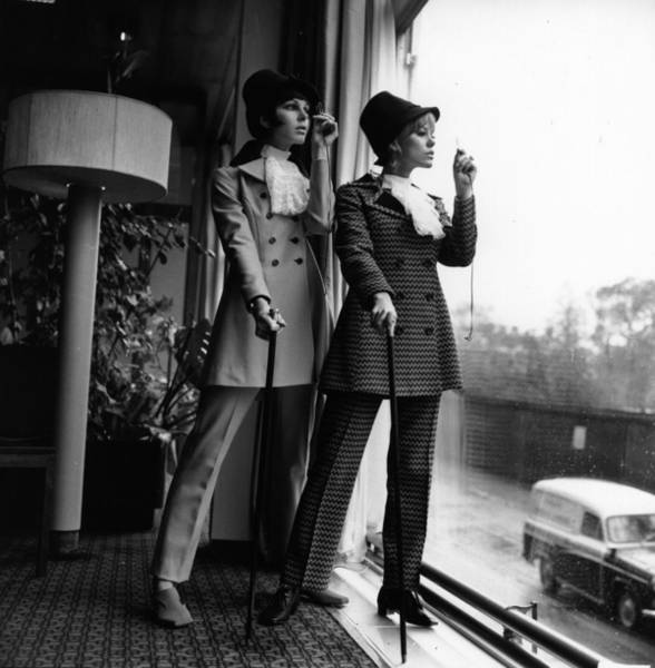 Clothing Store Photograph - Trousersuits by Evening Standard